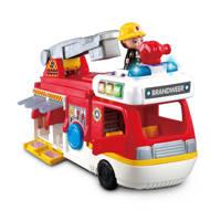 VTech Vrolijke Vriendjes  2-in-1 Brandweerwagen, Multi kleuren