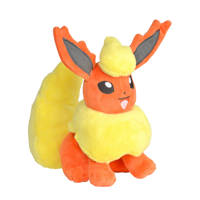 Pokemon Pluche - Flareon knuffel 20 cm, Rood