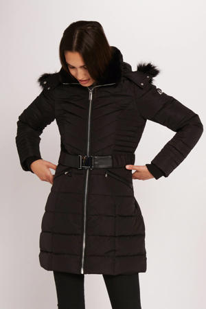 coat winter zwart