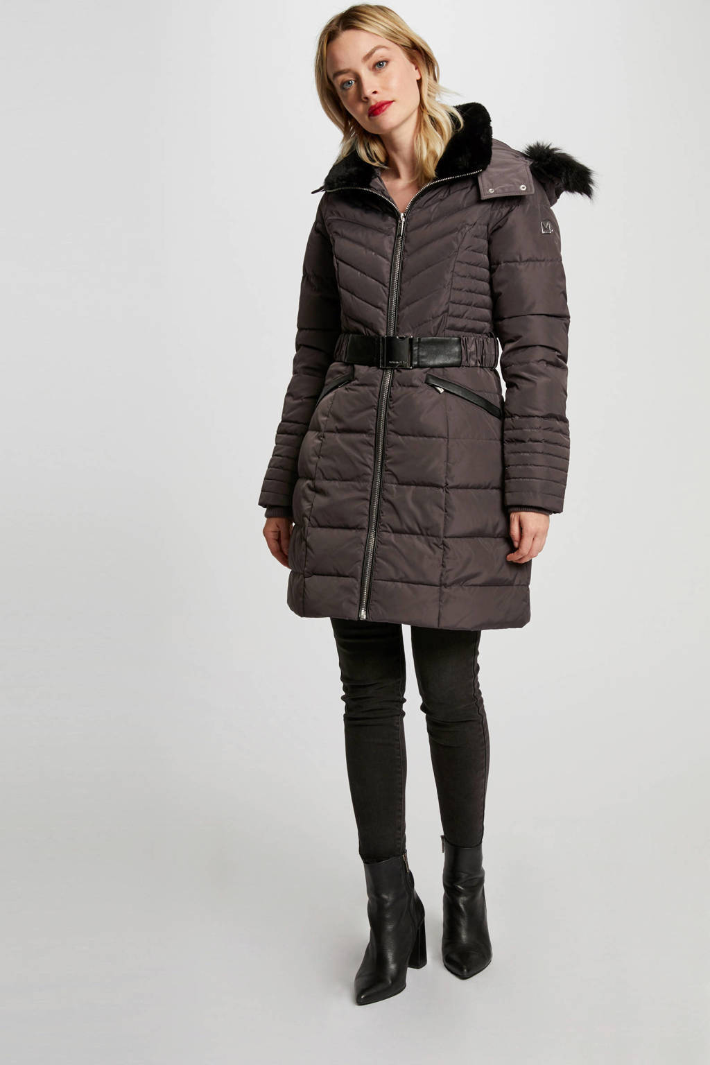 Morgan coat winter antraciet, Antraciet