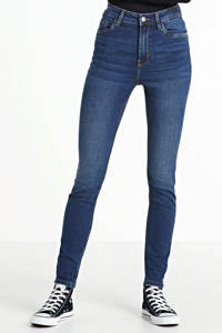anytime high rise skinny jeans stonewashed, Stonewashed dark denim