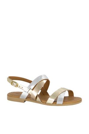 sandalen goud/zilver