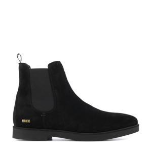 Logan  suède chelsea boots zwart