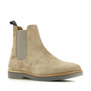 Logan  suède chelsea boots beige
