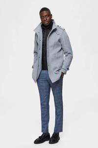 SELECTED HOMME jas met wol grijs, Grijs