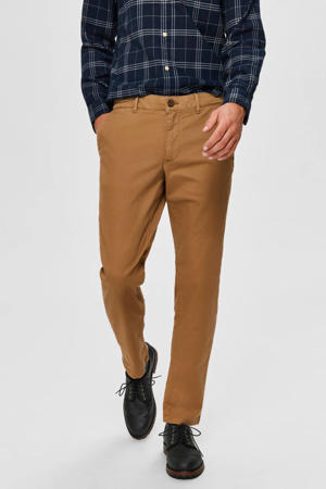 straight fit chino camel