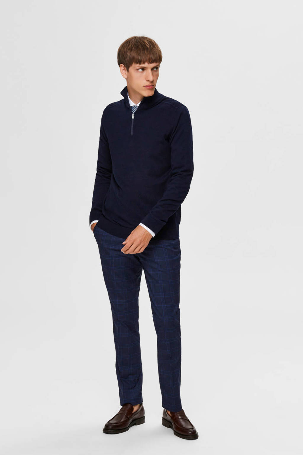 SELECTED HOMME coltrui donkerblauw, Donkerblauw