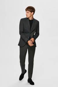 SELECTED HOMME fijngebreide trui zwart, Zwart