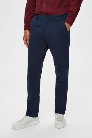 straight fit chino donkerblauw