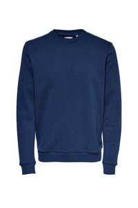 ONLY & SONS sweater blauw, Blauw