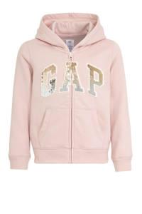 GAP vest met logo lichtroze, Lichtroze