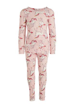 pyjama eenhoorn roze