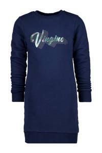 Vingino sweatjurk Phoebe met logo donkerblauw, Donkerblauw