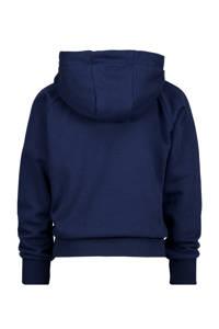 Vingino hoodie Norien met logo donkerblauw, Donkerblauw