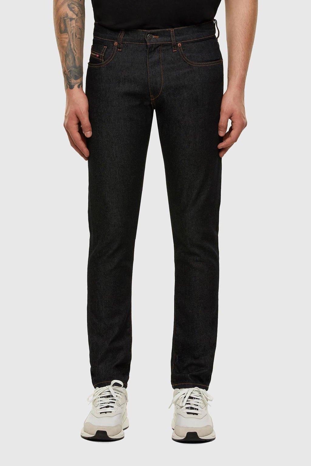 Diesel tapered fit jeans D-Strukt L34 donkerblauw, 01
