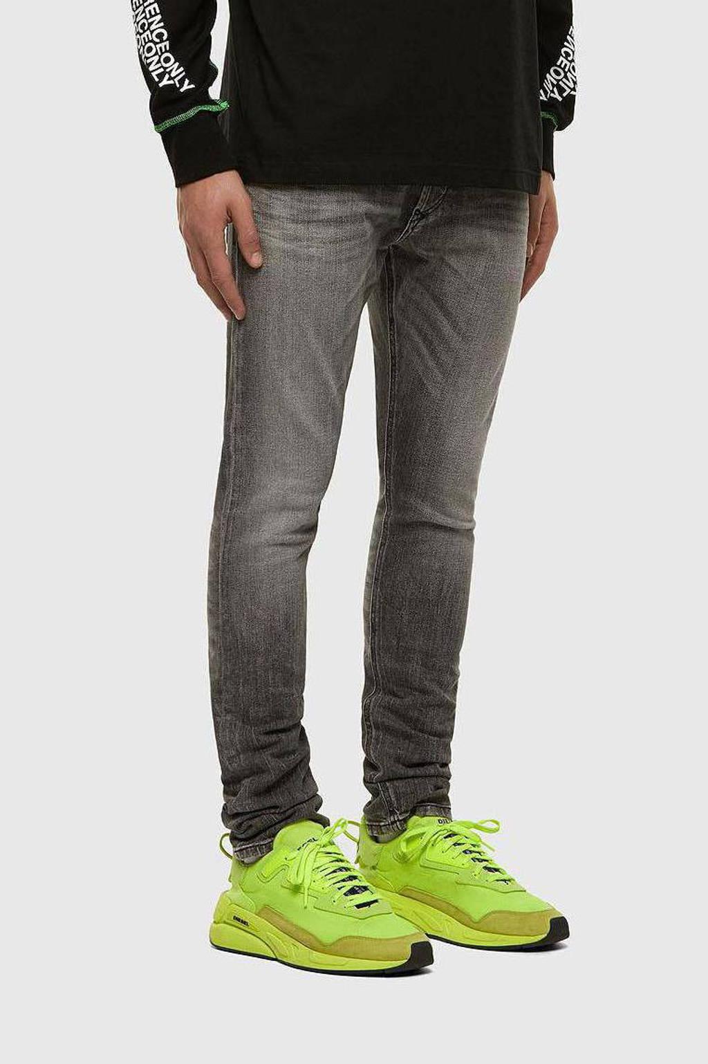 Diesel skinny jeans Tepphar-X grijs, Grijs