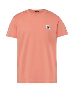 T-shirt zalm