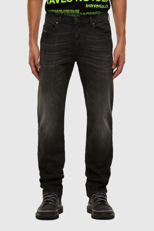tapered fit jeans D-Mihtry zwart
