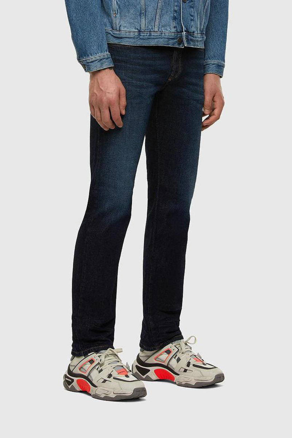 Diesel straight fit jeans D-Mihtry dark denim, Dark denim