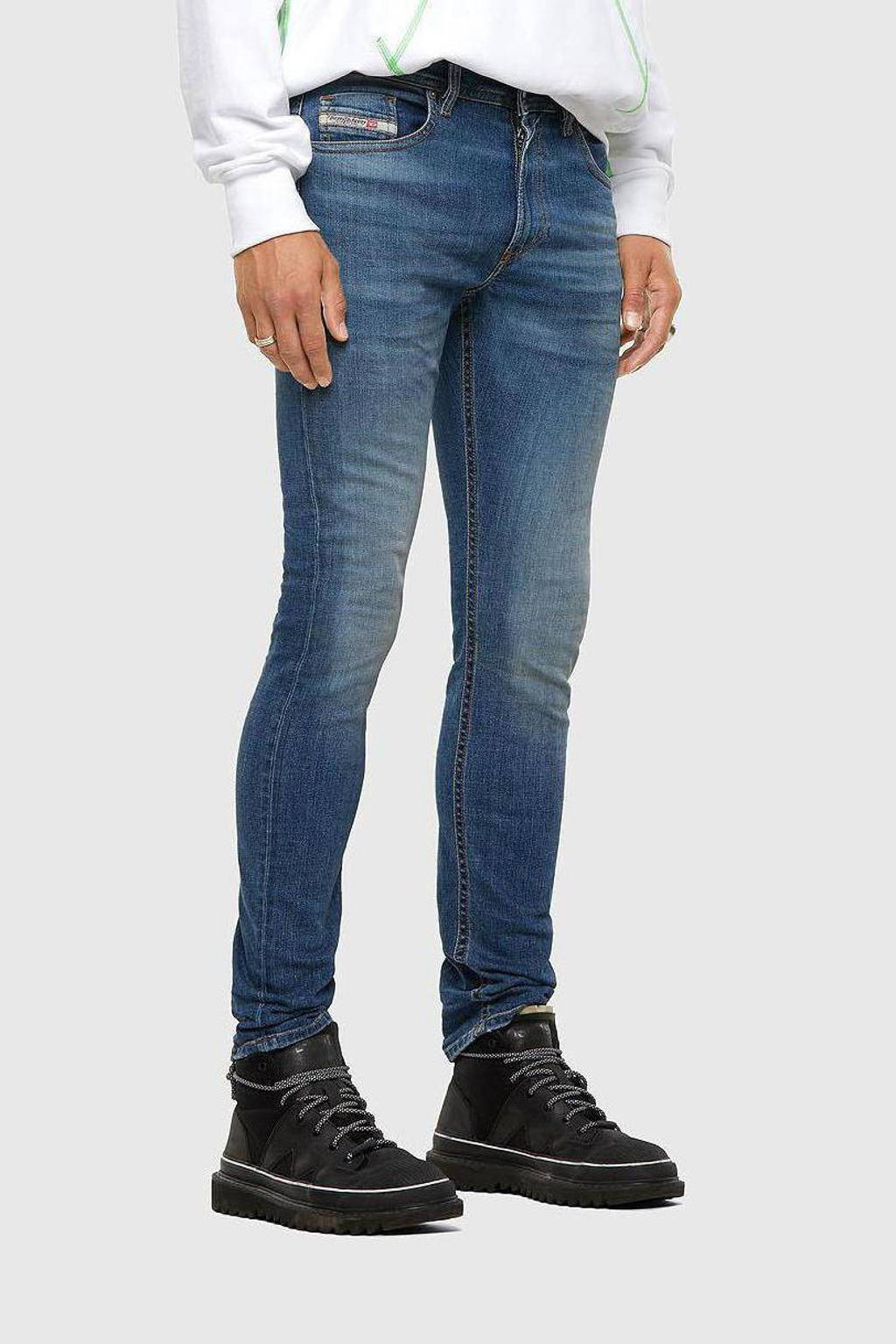 Diesel skinny jeans Thommer-X stonewashed, Stonewashed