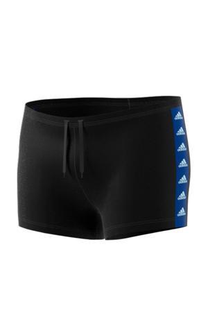 zwemboxer zwart/blauw