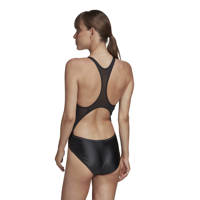 adidas Performance sportbadpak Glam-on Shiny zwart, Zwart/glitter