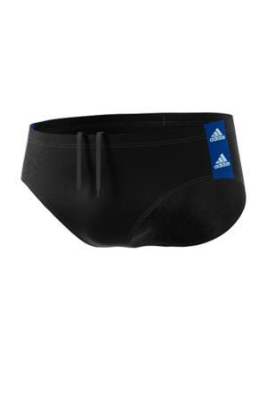 zwembroek zwart/blauw
