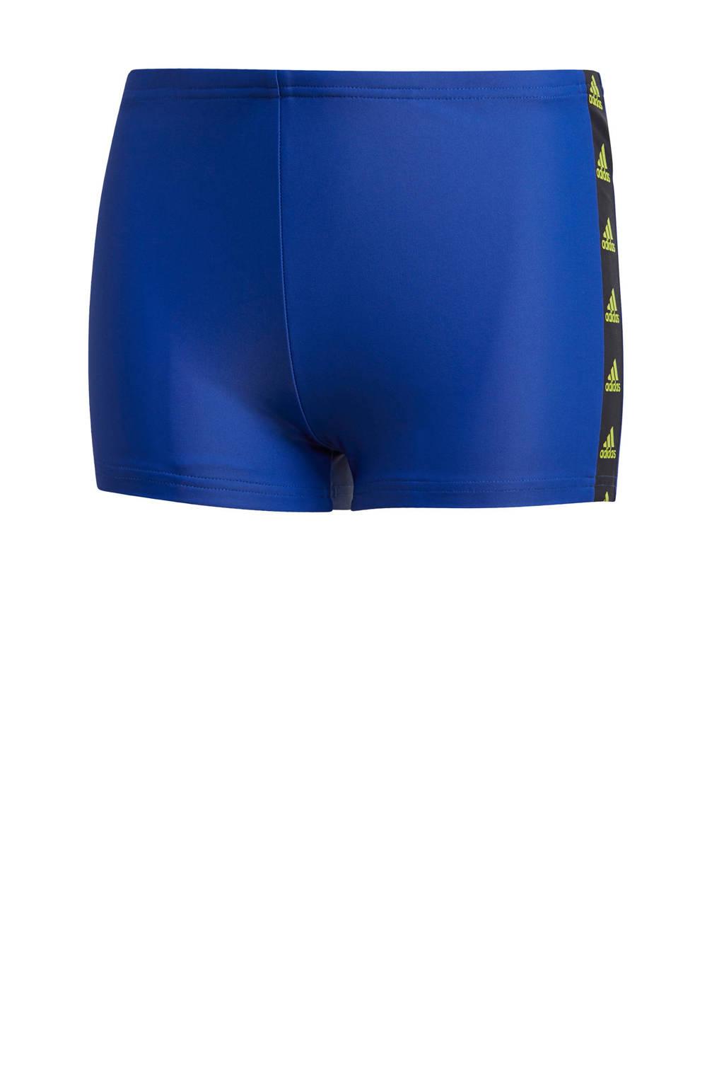 adidas Performance zwemboxer blauw, Blauw
