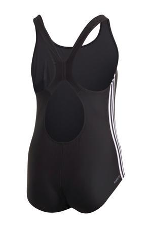 Plus Size Infinitex sportbadpak 3-stripes zwart