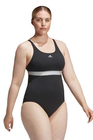 Infinitex sportbadpak zwart/wit