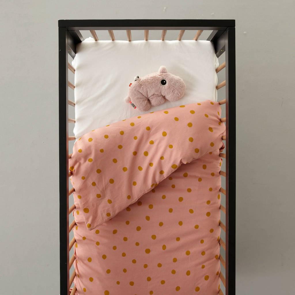 wehkamp home dekbedovertrek ledikant, Roze, Baby (100 cm breed)