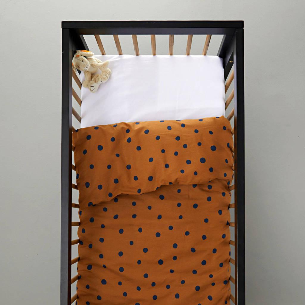 wehkamp home dekbedovertrek ledikant, Toffee, Baby (100 cm breed)
