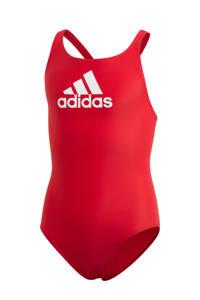 adidas Performance Infinitex sportbadpak rood, Rood/wit