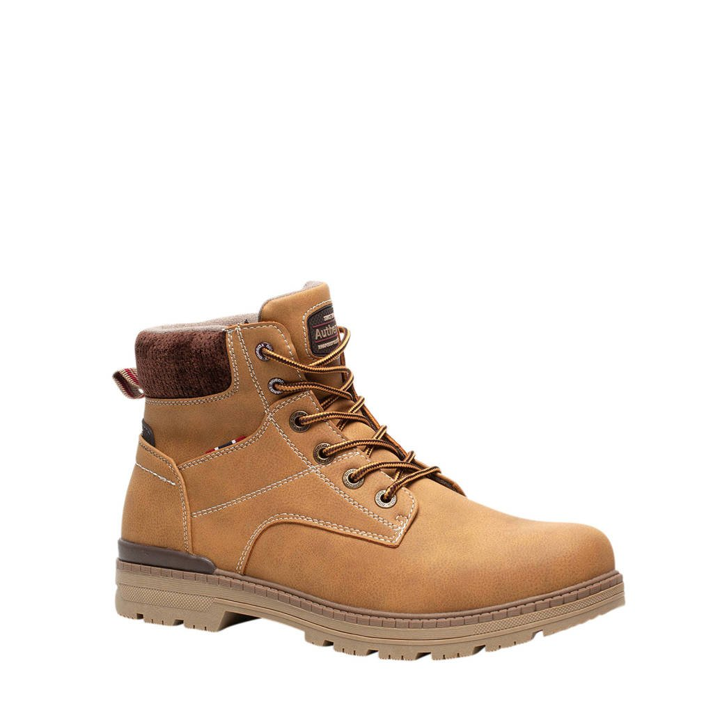 Scapino Blue Box   veterboots camel, Camel
