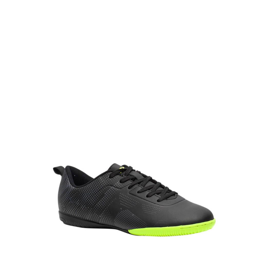 Scapino Dutchy   Jr. zaalvoetbalschoenen zwart/geel, Zwart