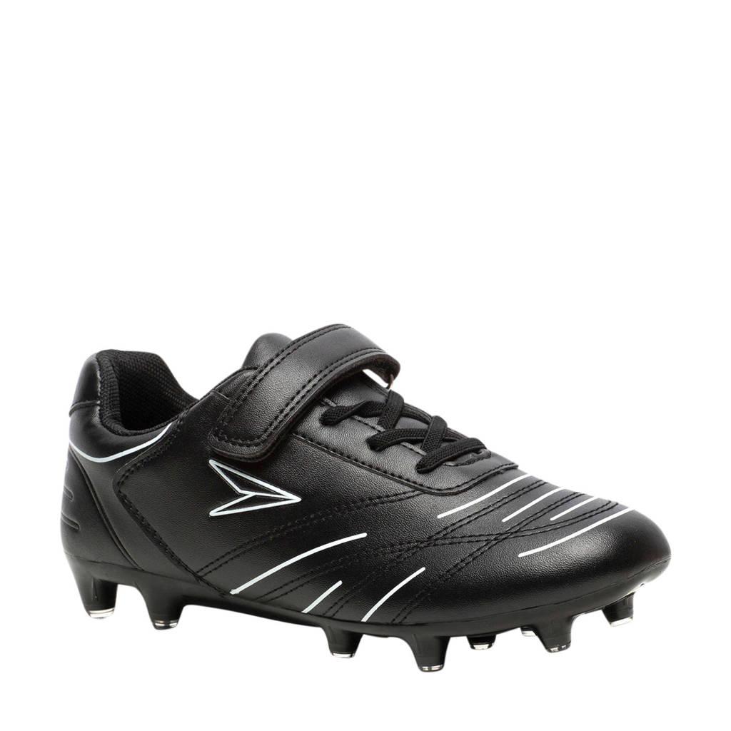 Scapino Dutchy Attack  Jr. voetbalschoenen zwart/wit, Zwart/wit