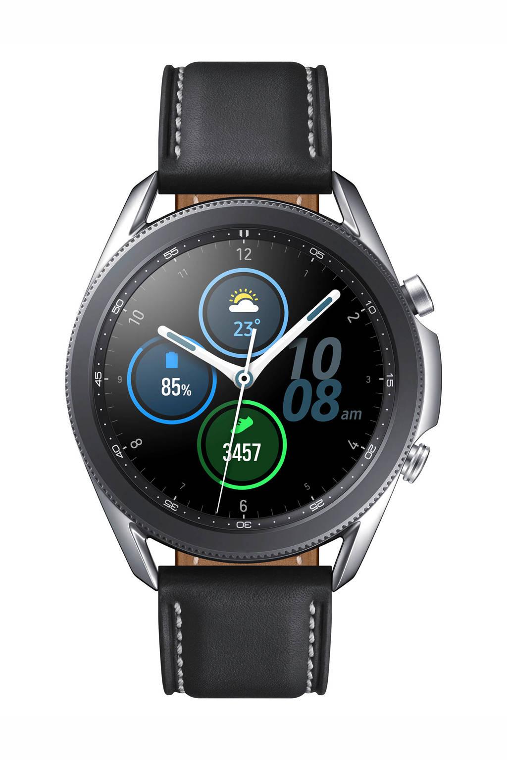 Samsung Galaxy Watch 3 (45) mm smartwatch (zilver)