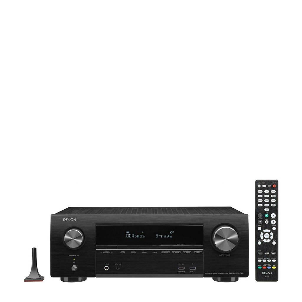 Denon AVR-X1600HDAB AV-receiver, Zwart