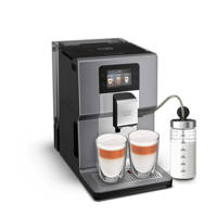 Krups EA875E Intuition Preference + espresso apparaat (chrome), Grijs