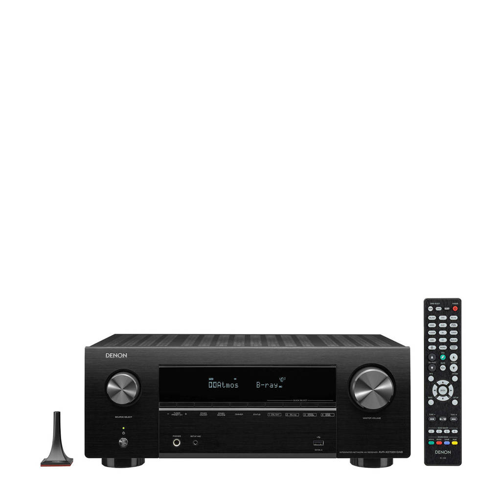 Denon AVR-X2700HDAB AV-receiver, Zwart