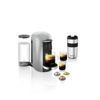 Krups Nespresso XN900E VERTUO + (grijs), Zilver