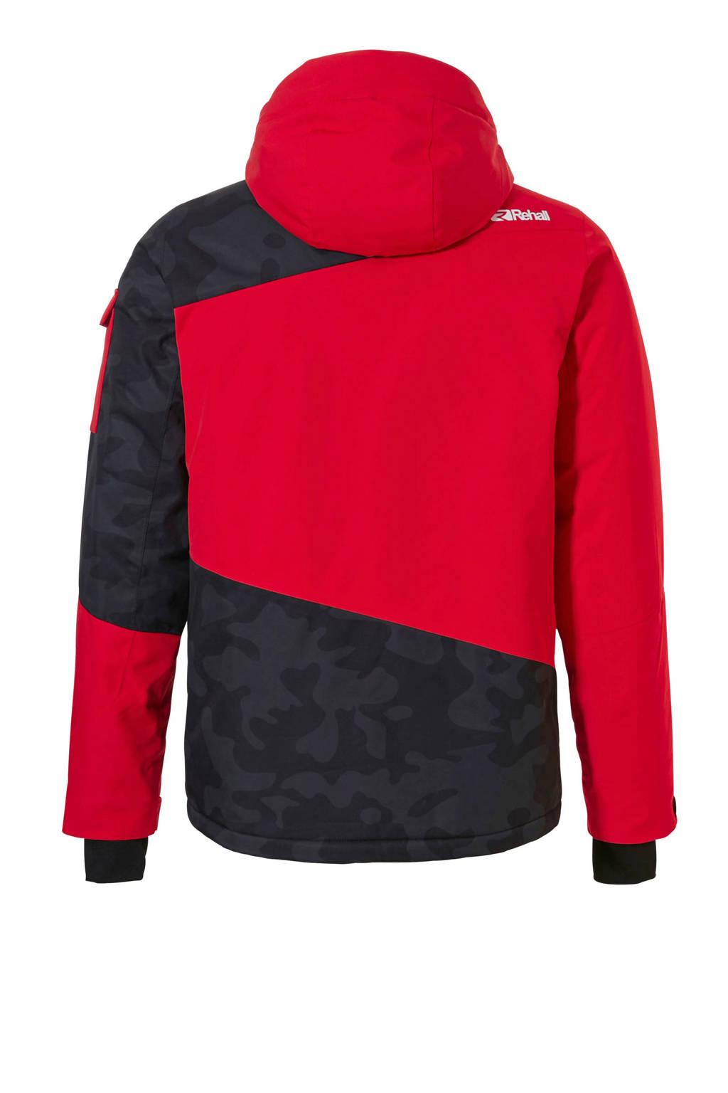 Rehall jack Isac-R rood/grijs, Rood/grijs