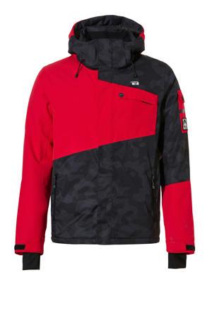 jack Isac-R rood/grijs