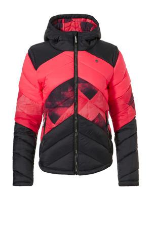 jack Saidy-R Downlook rood/roze/zwart