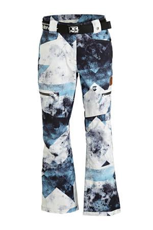 skibroek Keely-R blauw/wit