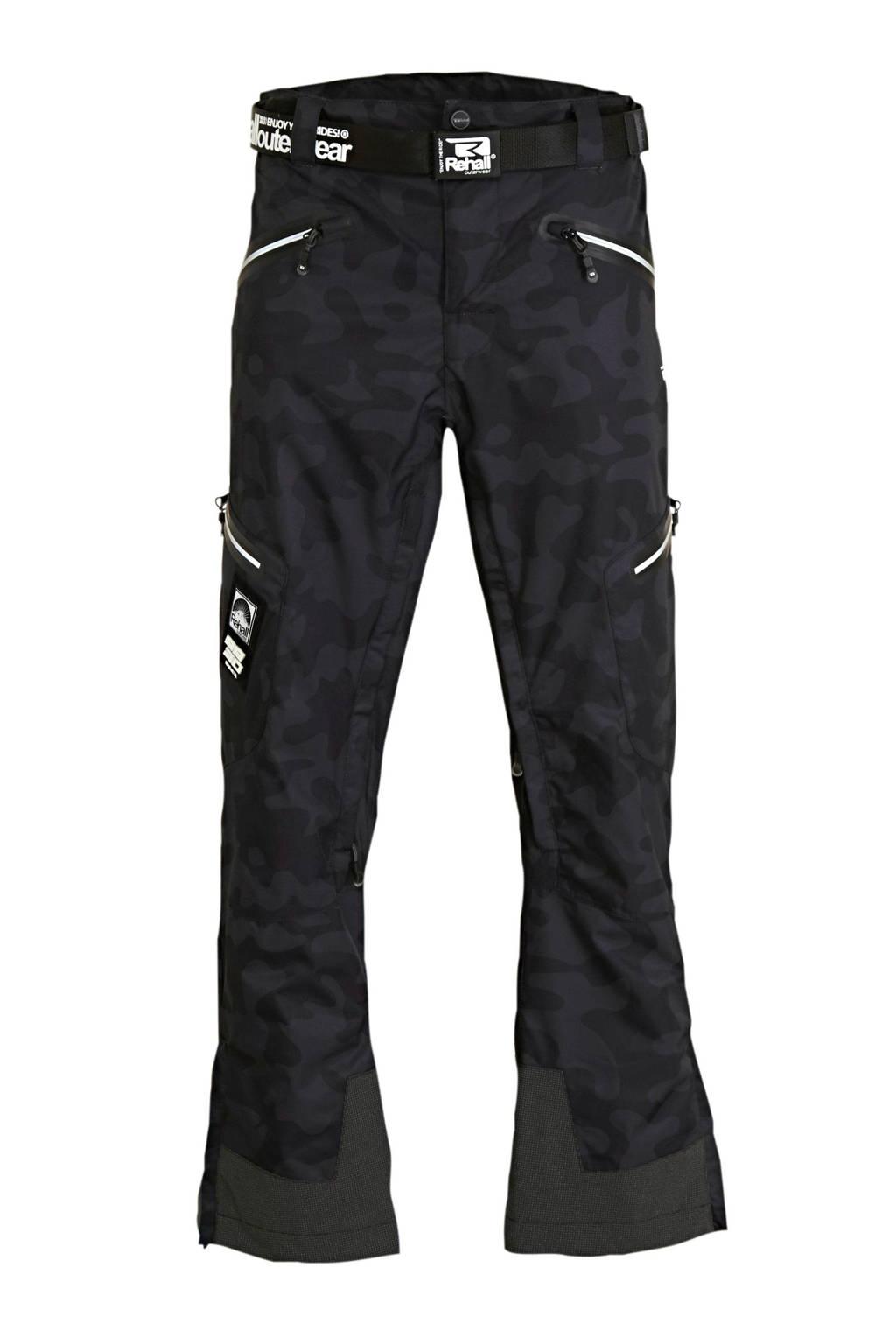 Rehall skibroek Zane-R zwart, Zwart