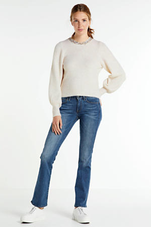 bootcut jeans faded blue