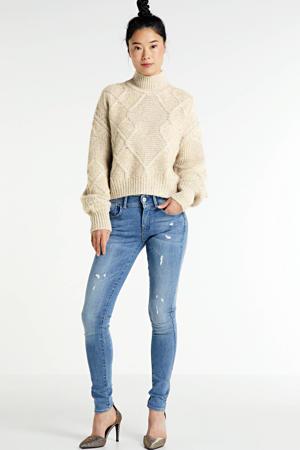 Lynn super skinny jeans lt aged destroy