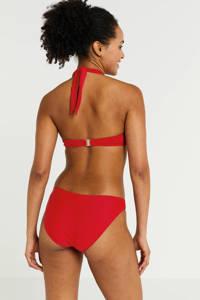 BEACHWAVE halter push up bikinitop rood, Rood