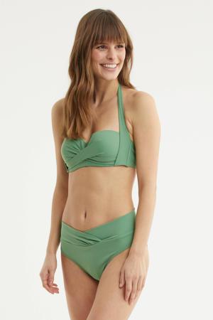 halter bikinitop lichtgroen